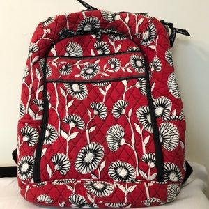 Vera Bradley backpack laptop carrier Deco Daisy